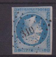 """PC 310 . """" BEAUMES DE VENISE """" . (88) . N° 14 . TB . - Marcophily (detached Stamps)"""