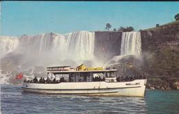 CANADA---NIAGARA FALLS ONTARIO---bâteaux  MAID OF THE MIST----voir 2 Scans - Chutes Du Niagara