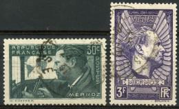 France (1937) N 337 à 338 (o) - France