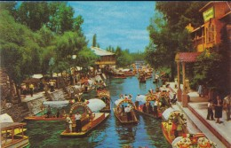 MEXIQUE----lago De Xochimilco  Mexico----voir 2 Scans - Mexique