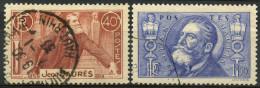 France (1936) N 318 à 319 (o) - France