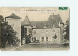MONFLANQUIN - Château De BOYNET - Vue Différente Animée - 2 Scans - Monflanquin