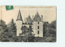 MONFLANQUIN - Château De COMBE - 2 Scans - Monflanquin