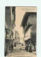PORT SAINTE MARIE - Rue Principale - Beau Plan Animé - BE - 2 Scans - France