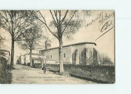 BOUGLON - L' EGLISE Animée - 2 Scans - France
