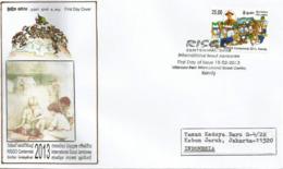 2013 International Scout Jamboree. Kandy. Sri Lanka, Lettre FDC Sri Lanka Adressée Indonésie - Covers & Documents