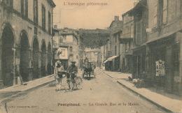 PONTGIBAUD - La Grande Rue Et La Mairie - Frankreich