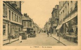 Dép 76 - Voitures - Automobile - Yvetot - Rue Du Calvaire - 2 Scans - état - Yvetot