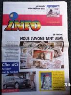 ARTICLES DU JOURNAL INFO 31/12/2001 IL SONNE LE GLAS DU FRANC DES DIZAINES DE BILLETS JOURNAL JOURNAUX QUOTIDIENS PRESSE - Newspapers
