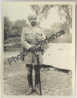 Photo Guerre 14-18 Militaire Cavalier Indien Officier British Cavalry Indian WW1 - Guerre, Militaire