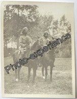Photo Guerre 14-18 Militaire Britannique Cavalier Indien British Cavalry Indian WW1 - Guerre, Militaire