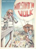 """BD - COMMICS - EUPEN """" Wir Sind 'n Volk """" Von Hubert Vom Venn Und Roland Groteclaes 1996 - Books, Magazines, Comics"""
