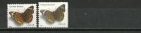 USA.Papillon Junonia Coenia.  2 T-p Neufs ** Gomme Et Adhesifs, Differents Formats - Butterflies