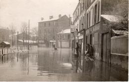 LIEU A SITUER - Innondations De Janvier 1910 - Ile-de-France