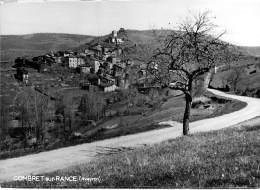 12 - COMBRET Sur RANCE : Une Vue Du Village - CPSM Photo ( Voire Carte Photo ) Noir Blanc GF - Aveyron - France
