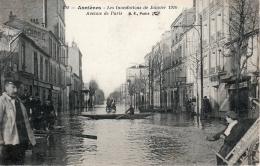 ASNIERES (75) - Les Inondations De Janvier 1910 - Avenue De Paris - Asnieres Sur Seine