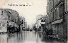 ASNIERES (75) - Les Inondations De Janvier 1910 - Avenue Des Grésillons - Asnieres Sur Seine