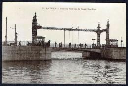 LAEKEN - Nouveau Pont Sur Le Canal Maritime - Circulé - Circulated - Gelaufen - 1900. - Laeken