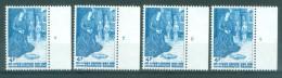 BELGIE - OBP Nr 1688 - Kerstmis - PLAATNUMMER 1/4 - MNH** - 1971-1980