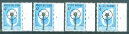 BELGIE - OBP Nr 1691 - Microfoon - PLAATNUMMER 1/4 - MNH** - 1971-1980