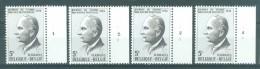 BELGIE - OBP Nr 1713 - Dag Van De Postzegel - PLAATNUMMER 1/4 - MNH** - 1971-1980