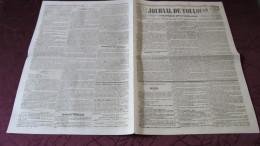 CORNEBARRIEU - LE DESASTRE DE 1845, DEBORDEMENT DE L´AUSSONNELLE - LES MILITAIRES AU SECOURS DE LA COMMUNE - Newspapers
