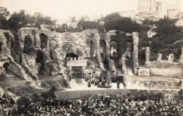 SAINTES  Les Arenes Gallo Romaines Le 8 Aout 1926-Simon De Montfort , Piece  De Suberville - Carte Photo - Saintes