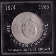 UNITED STATES OF AMERICA - COMMEMORATIVE CROWN - SIR WINSTON CHURCHILL - 1874 -1965 - ANNO 1965 - ELIZABETH II - - Altri – America