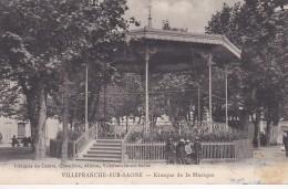 11s - 69 - Villefranche-sur-Saône - Rhône - Kiosque De La Musique - Villefranche-sur-Saone