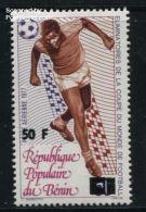 Benin 1979 Football Overprint 1v, Mint NH, Football - Sport - Benin (1892-1894)