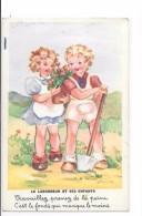 9208 - CPA Fable De La Fontaine, Le Laboureur Et Ses Enfants, Illustré Par LAGARDE - Contes, Fables & Légendes