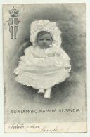 S.A.R. LA PRINCIPESSA MAFALDA DI SAVOIA  VIAGGIATA FP - Royal Families
