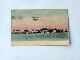 Carte Postale Ancienne : BELIZE HARBOUR, In 1909 - Belice