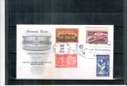 Expo 58 - Souvenir Cover - USA  (à Voir)