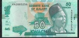 MALAWI  P64a  50  KWACHA   2014    UNC. - Malawi