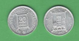 Como Gettone STECAV Da 20 Centesimi 1944 RSI Repubblica Sociale - Monetary/Of Necessity