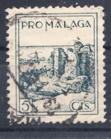 PRO MALAGA 1937 VISTA DE LA ALCAZABA  USADO . SES035 - Vignettes De La Guerre Civile