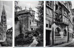 Nürnberg - 19 S/w Ansichtskarten Im Kleinformat Leporello - Nuernberg
