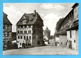 Nürnberg - S/w Albrecht Dürer Haus Und Wehrgang - Nuernberg