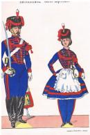 Images D´EPINAL 220x300 - Artillerie - Garde Impériale Napoléon III Et Dragons De L´Impératrice- Lot De 4 - Uniform