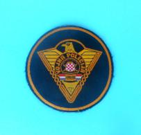 MILITARY POLICE OF BOSNIAN CROATS ARMY HVO In BOSNIA WAR 1992-95. Patch Bosnie Ecusson Bosnien Kroatien Flicken Croatia - Patches