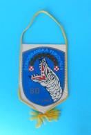 LIVNO - BOSNIAN CROATS ARMY HVO In BOSNIA WAR 1992-1995. Pennant * Bosnie Fanion Bosnien Kroatien Wimpel Croatia - Flags