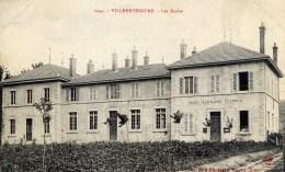 01 VILLEREVERSURE Les Ecoles La Poste - Autres Communes