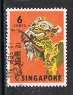 Singapore SG104 1968 Definitive 6c Good/fine Used - Singapore (1959-...)