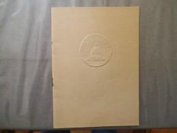 LA COMEDIE FRANCAISE 1948 UN MOIS A LA CAMPAGNE - Programmes