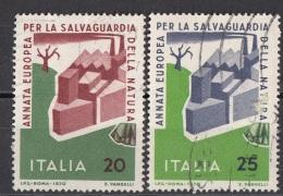 1236 Italia 1970  Salvaguardia Della Natura Viaggiato Used Full Set - Vegetazione