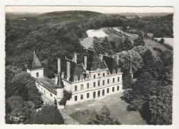 24 - Domme         Château De Jiversac           Vue Aérienne - France