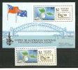 "ILES SAMOA. Satellite Météo Du Pacifique ""Afiamalu"" & Sydney Bridge. Un BF + Un T-p Neufs **"