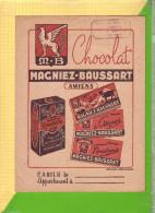 PROTEGE CAHIER : Chocolat MAGNIEZ BAUSSART - Protège-cahiers