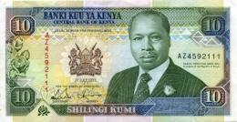 Kenya P.24   10 Shilings 1993 Unc - Kenia